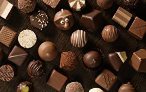 Картинка Сладости Конфеты Шоколад Пища
