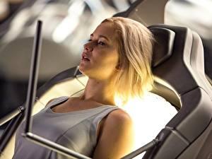 Обои Пассажиры 2016 Дженнифер Лоуренс Блондинки Знаменитости Девушки