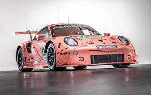 Фото Porsche Тюнинг Розовый 2018 911 RSR Авто