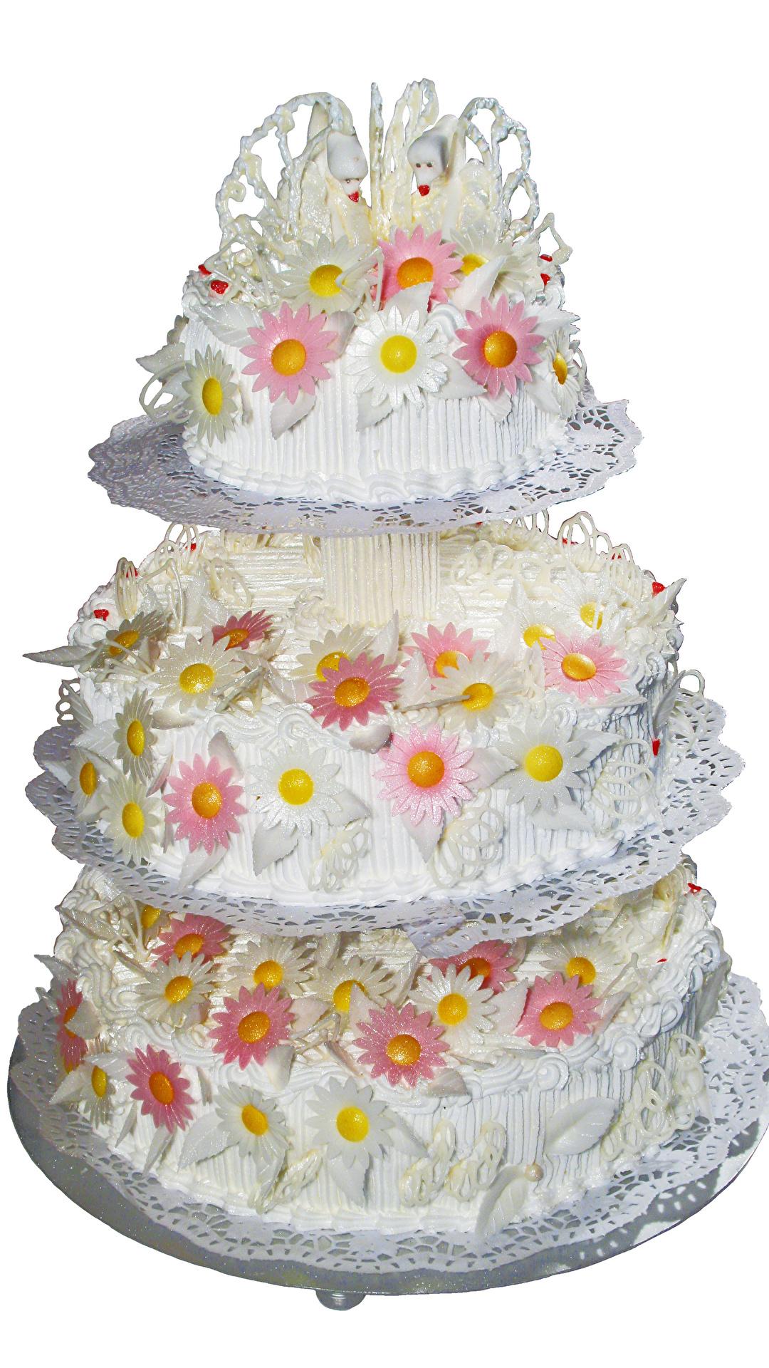 Фото Свадьба Wedding Cake Торты Еда Сладости белом фоне дизайна 1080x1920 брак свадьбы свадьбе свадебные Пища Продукты питания Белый фон белым фоном сладкая еда Дизайн