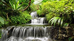 Картинка Водопады Природа