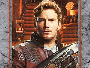 Картинки Мужчина Стражи Галактики. Часть 2 Крис Прэтт Красивые Star-Lord Фильмы