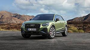 Фотография Audi CUV Зеленый Металлик SQ2, 2020 машина