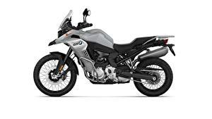 Фотографии BMW - Мотоциклы Сбоку Белый фон F 850 GS Adventure, 2020 Мотоциклы