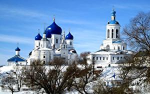 Фотографии Россия Храмы Монастырь Зимние Bogolyubsky convent Suzdal