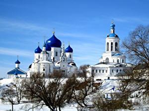 Фотографии Россия Храмы Монастырь Зимние Bogolyubsky convent Suzdal Города