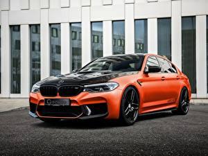 Обои для рабочего стола BMW Тюнинг Металлик M5, G-Power, F90, G5M Hurricane RS машина