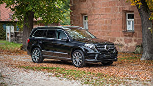 Картинка Mercedes-Benz Черная Металлик 2017-18 ART GLS-Klasse 400GS Авто