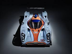 Обои для рабочего стола Астон мартин Сверху DBR1-2, LMP1, Sports prototype, 24 Hours of Le Mans Автомобили