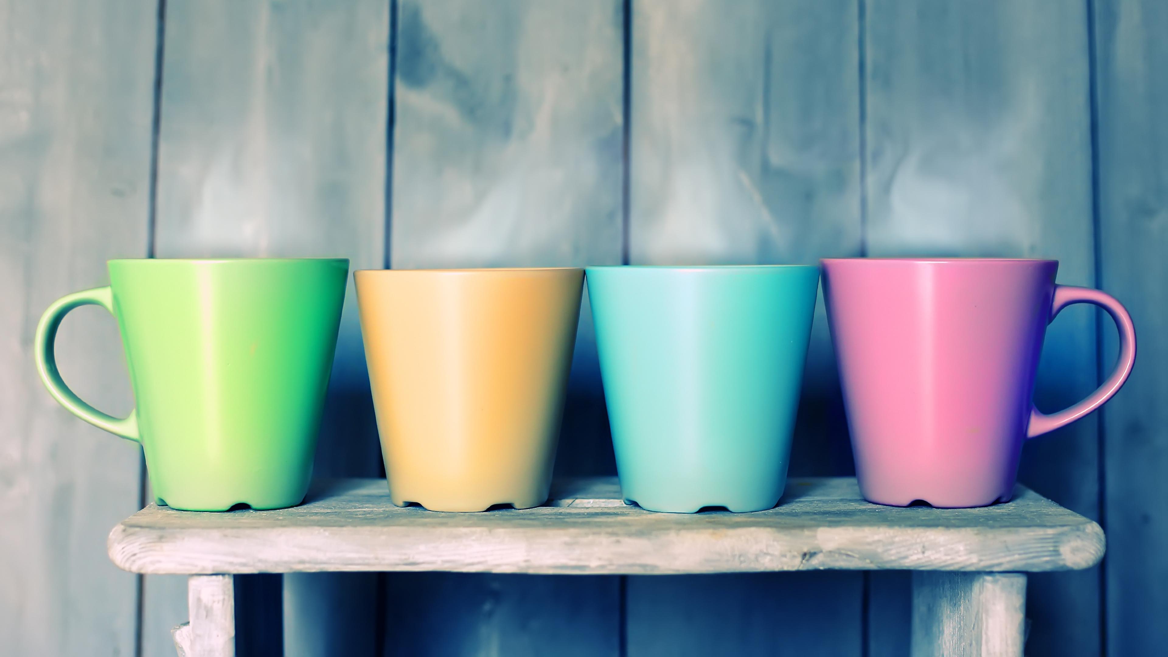 Разноцветные чашки подборки