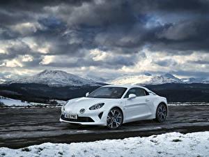 Фото Рено Белый Металлик 2018-19 Alpine A110 Pure