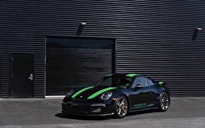 Фото Porsche Стайлинг Черный Металлик 2016 911 R машина