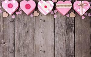 Картинка День святого Валентина Сердечко Доски Шаблон поздравительной открытки