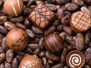 Фотография Сладости Конфеты Шоколад