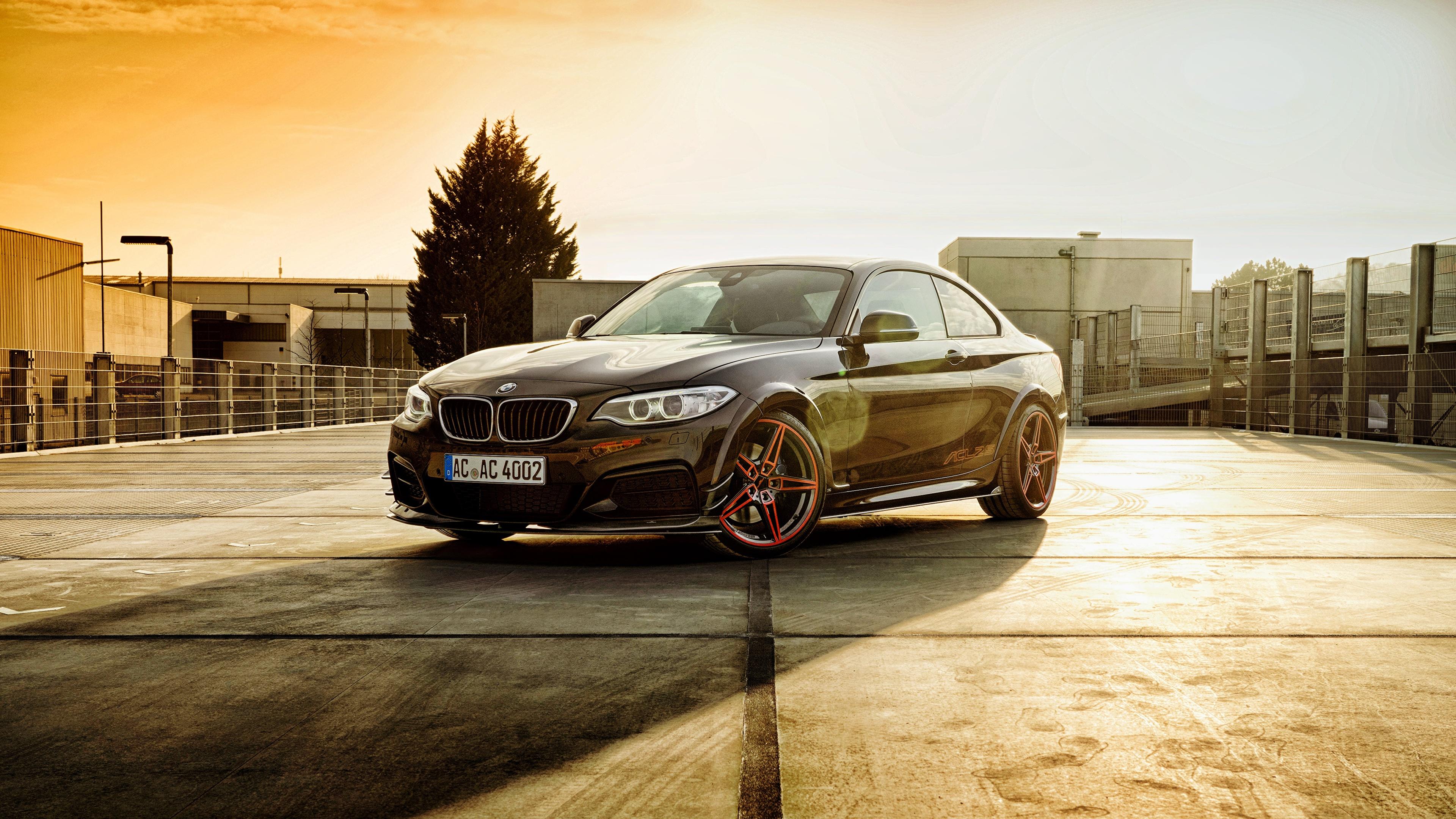 Фотографии BMW F22, 2-Series Купе Автомобили 3840x2160 БМВ авто машины машина автомобиль