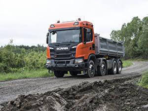 Фото Scania Грузовики 2017 G 500 XT 8×4 tipper