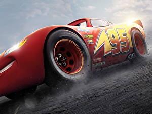 Картинки Тачки 3 Красная Lightning McQueen