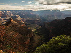 Картинка Америка Гранд-Каньон парк Парки Горы Каньон