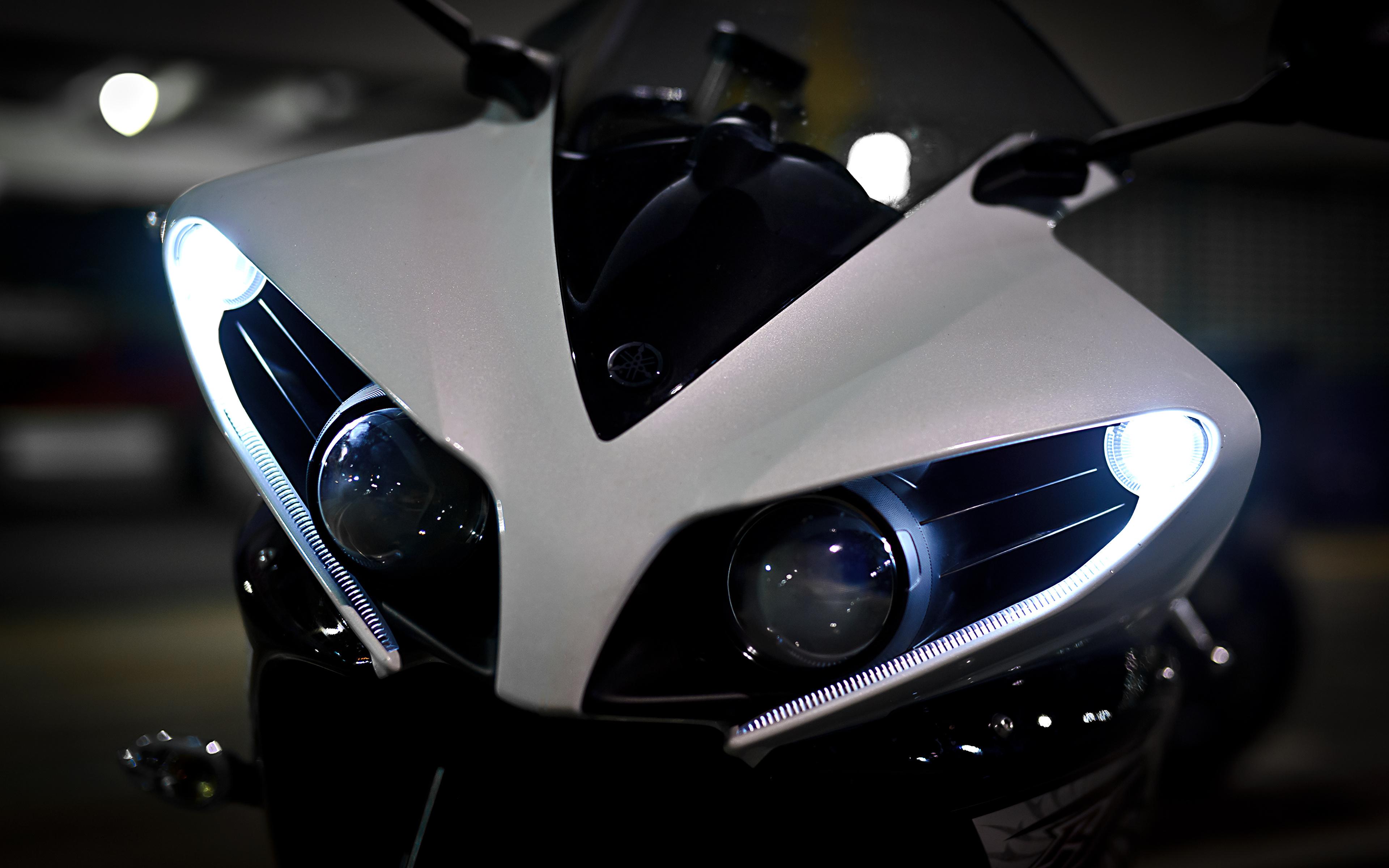 мотоцикл белый темнота загрузить