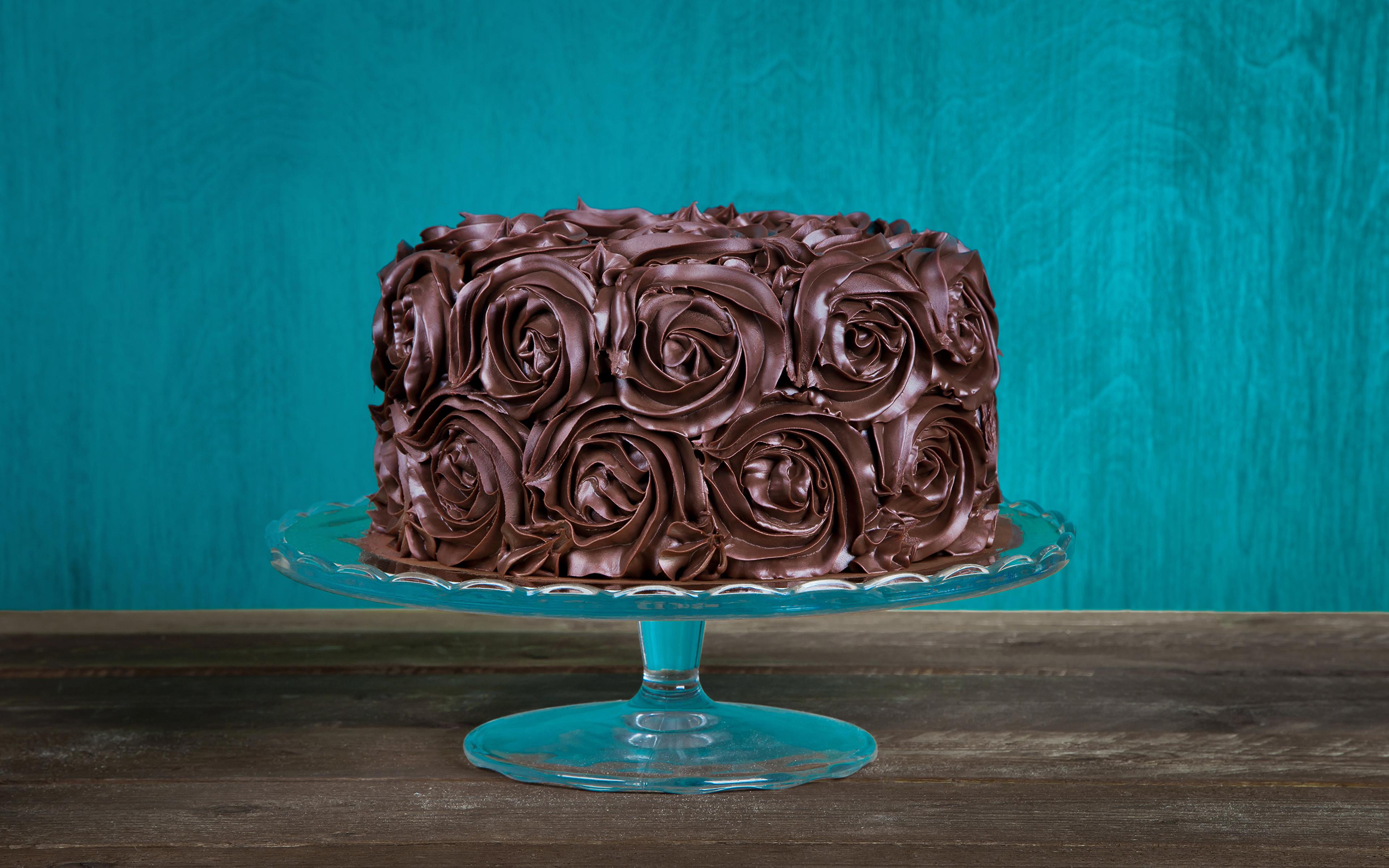 Картинка Шоколад Торты Еда Сладости дизайна 3840x2400 Пища Продукты питания сладкая еда Дизайн