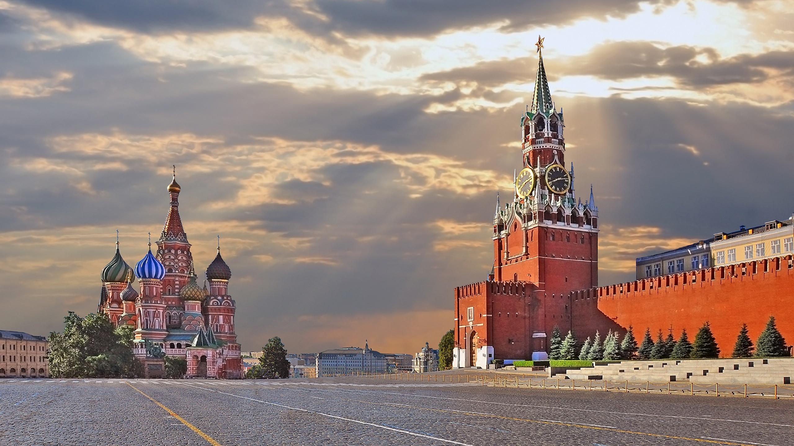 Обои кремль, россия, moscow, площадь, kremlin, russia. Города foto 12