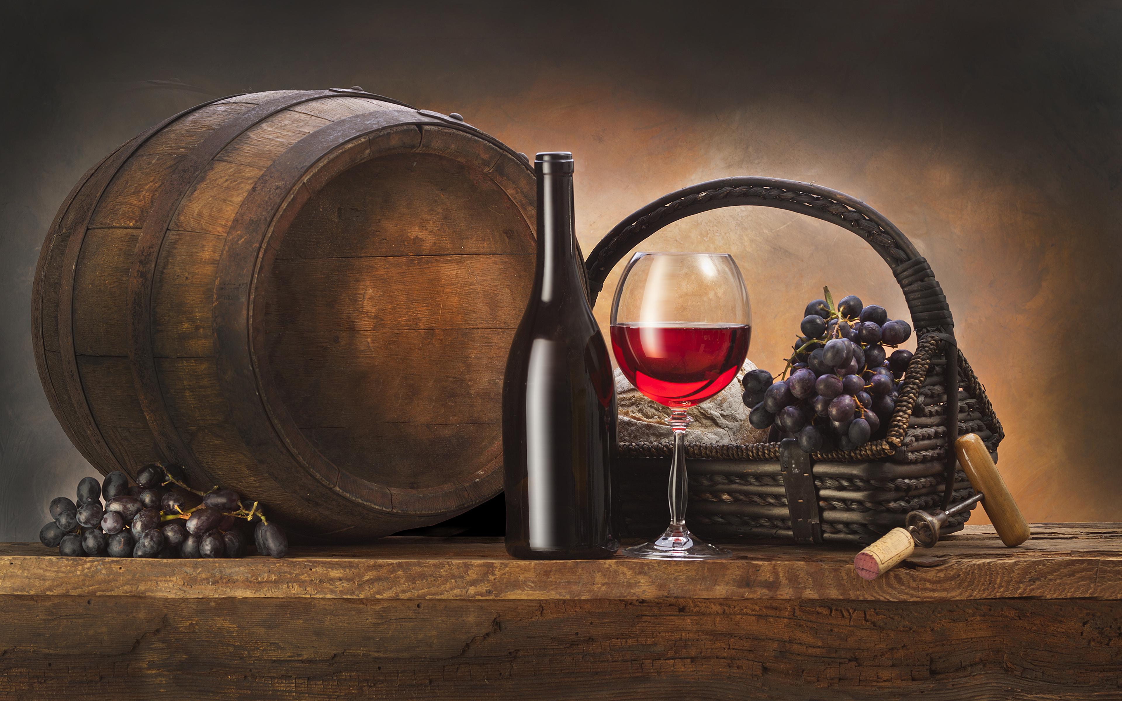 вино, бочка, скрипка, виноград скачать