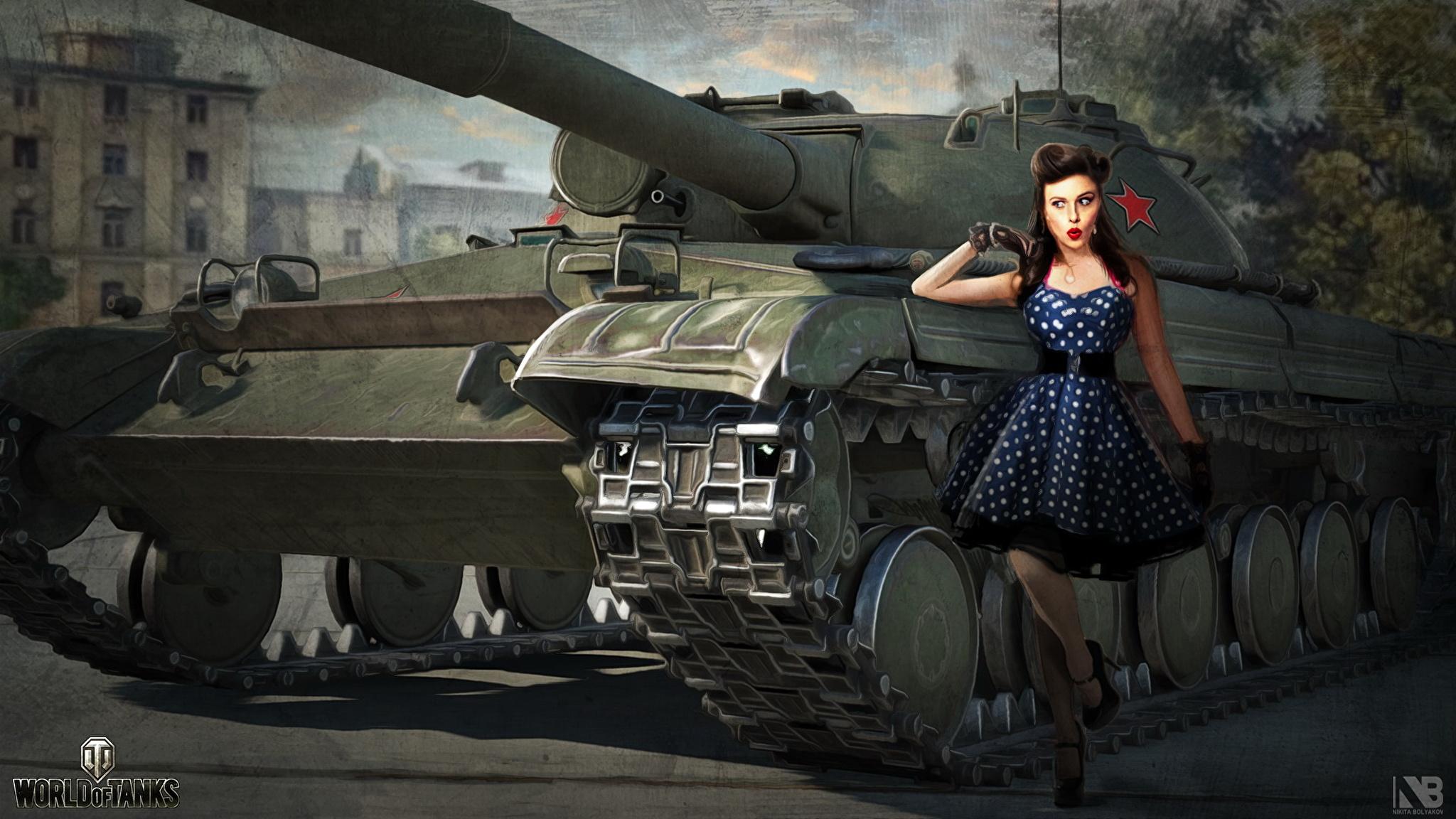 Обои 1366x768 World of tanks средний танк мир танков