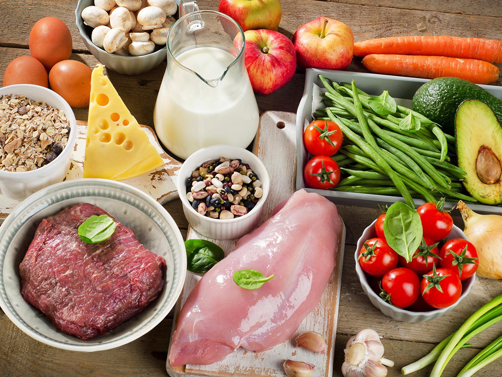 овощи фрукты и молочные продукты диета