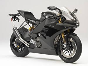 Фотография Серый фон Сбоку Углепластик 2013-19 EBR 1190RS мотоцикл