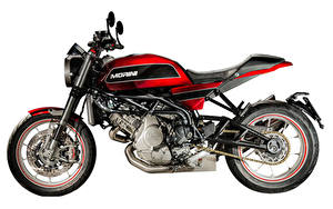 Фотография Белым фоном Сбоку 2018-20 Moto Morini Milano Мотоциклы