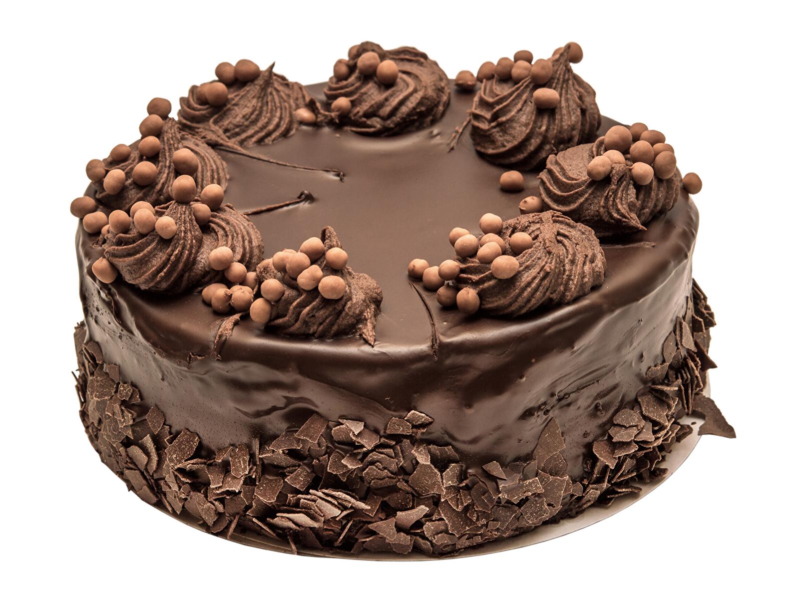 Обои для рабочего стола Шоколад Торты Продукты питания Белый фон сладкая еда Дизайн 1600x1200 Еда Пища Сладости белом фоне белым фоном дизайна