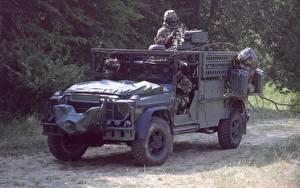 Картинки Боевая техника Mercedes-Benz G-класс G-Klasse KSK военные