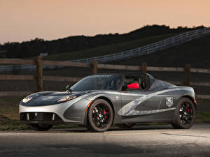 Фотография Тесла моторс Родстер Tesla Roadster Авто