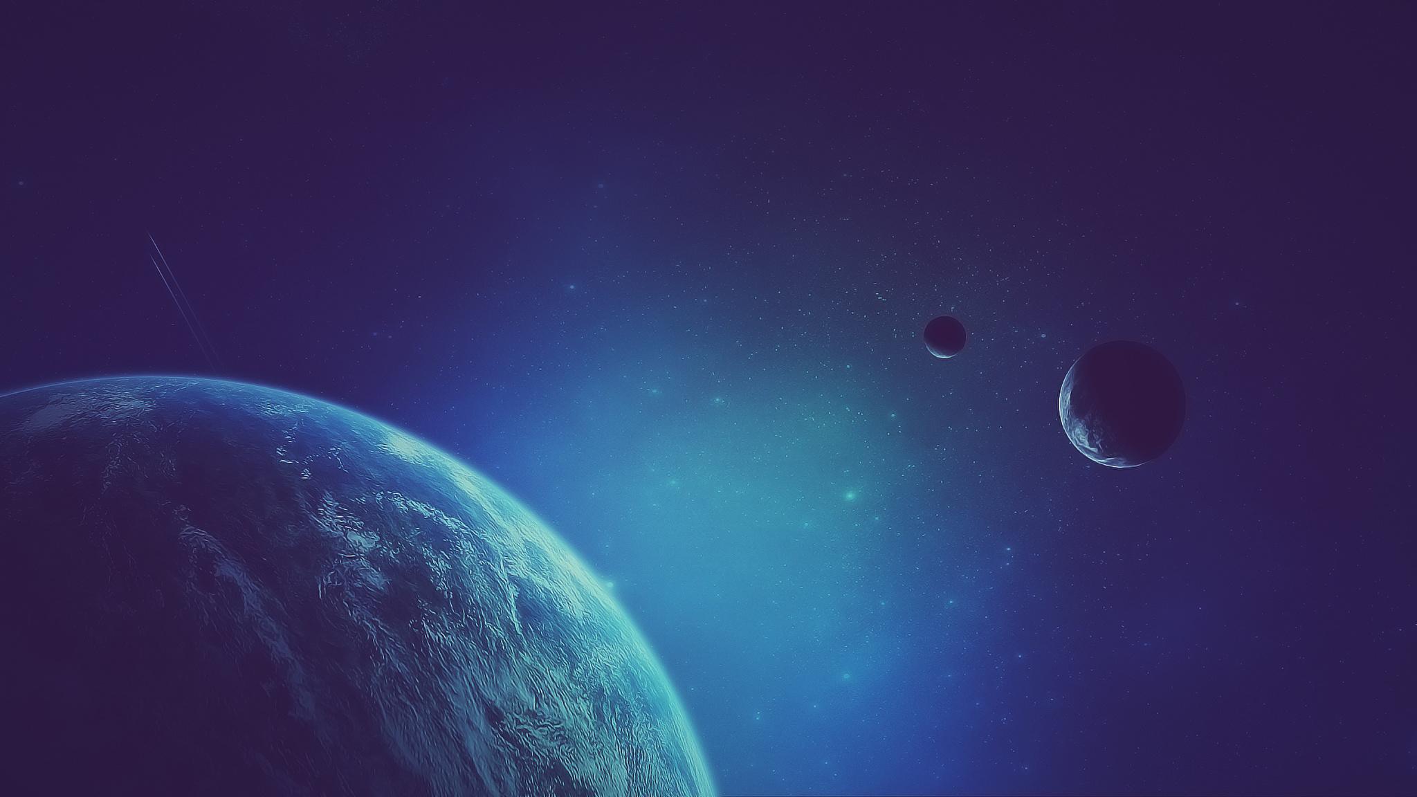 Обои планета спутник картинки на рабочий стол на тему Космос - скачать загрузить