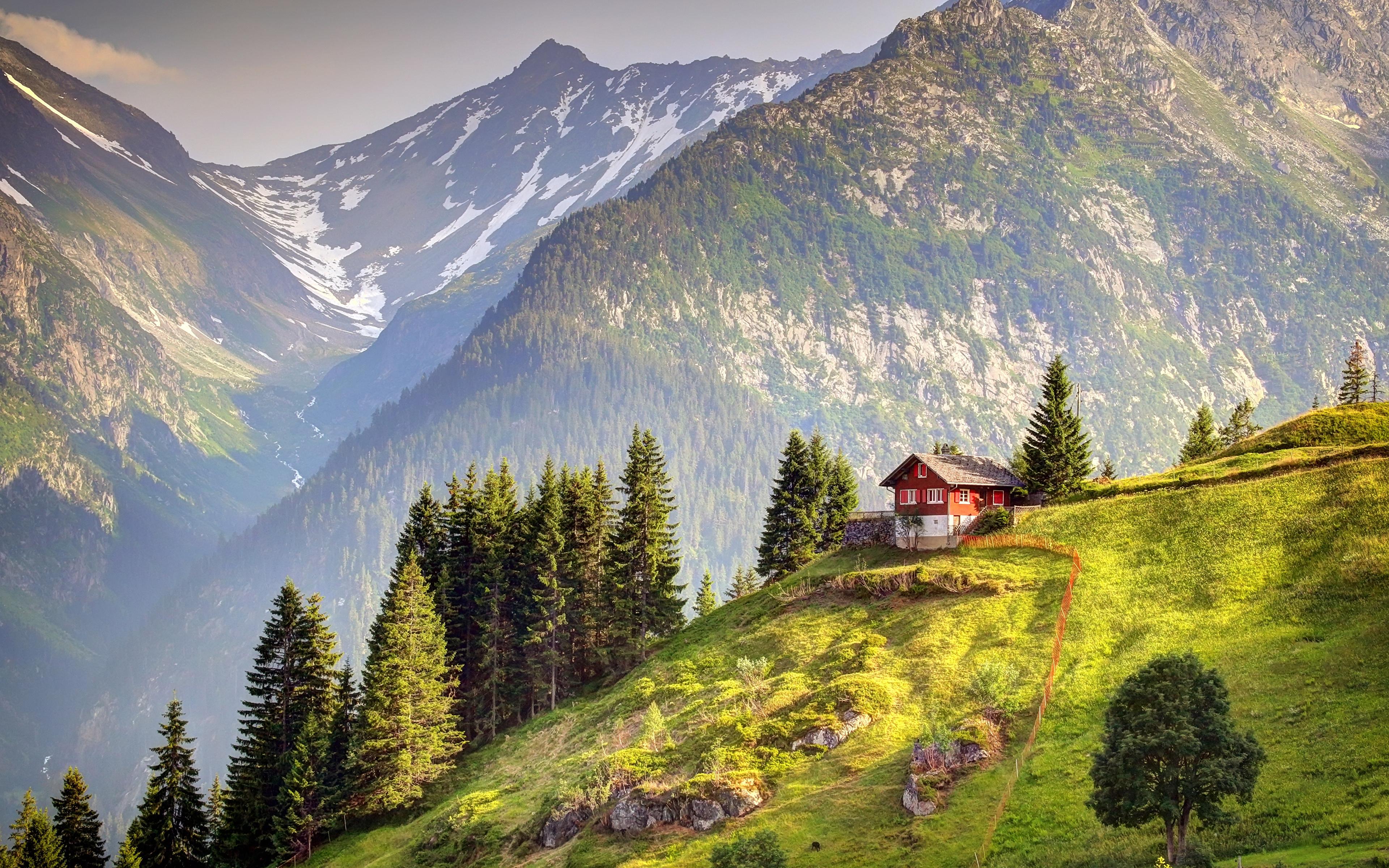 Обои швейцария, гора Нидерхорн, Mount Niederhorn, alps, Switzerland, альпы. Природа foto 12