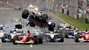 Фотография Формула 1 авария Спорт