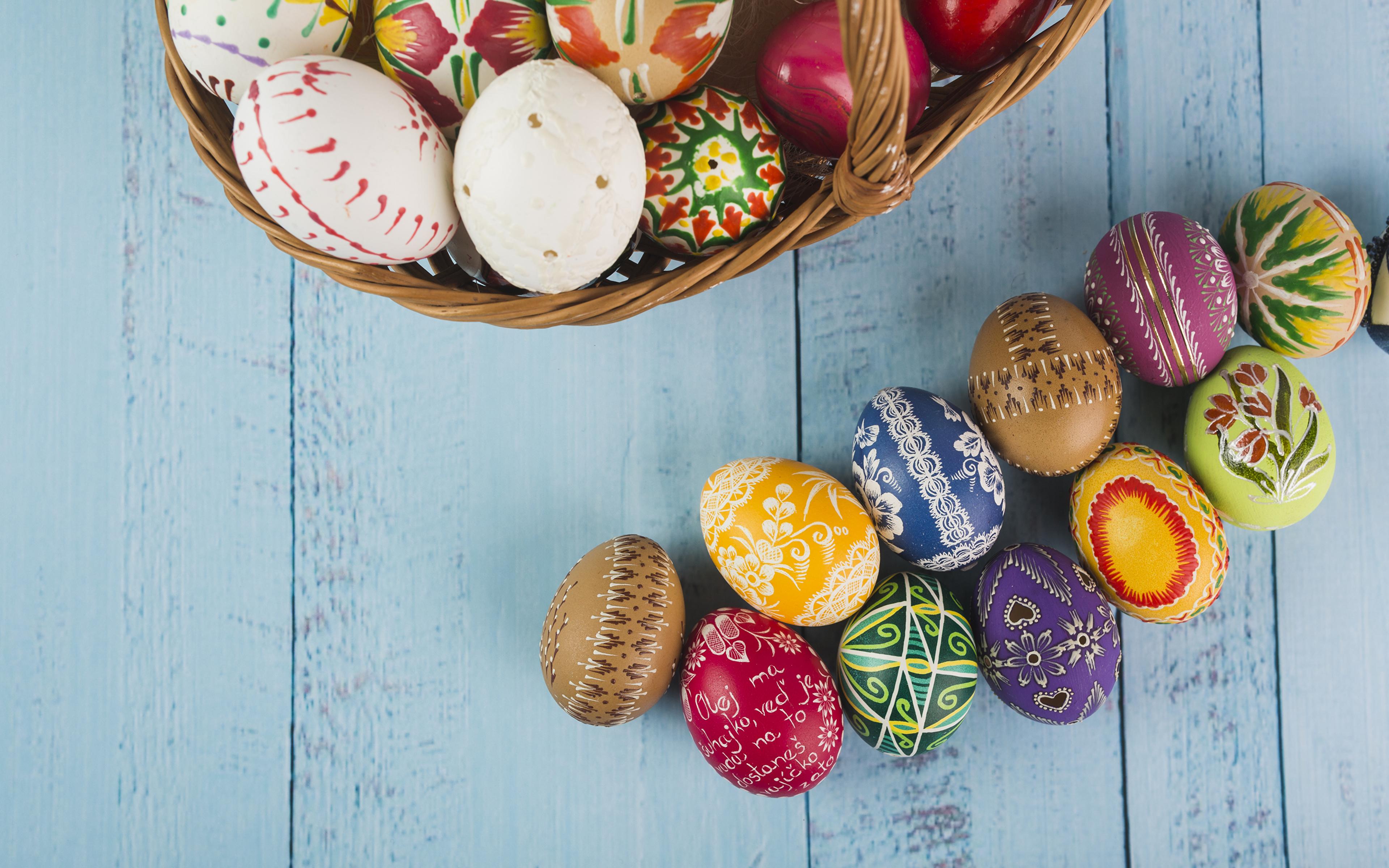 Картинки Пасха яйцами Доски Дизайн 3840x2400 яиц Яйца яйцо дизайна