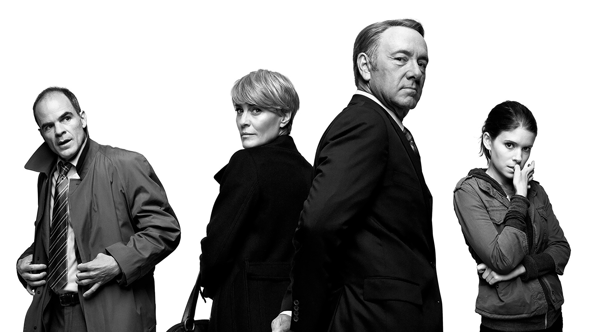 Created by Beau Willimon With Kevin Spacey Michel Gill Robin Wright Kate Mara A Congressman works with his equally conniving wife to exact revenge on the people