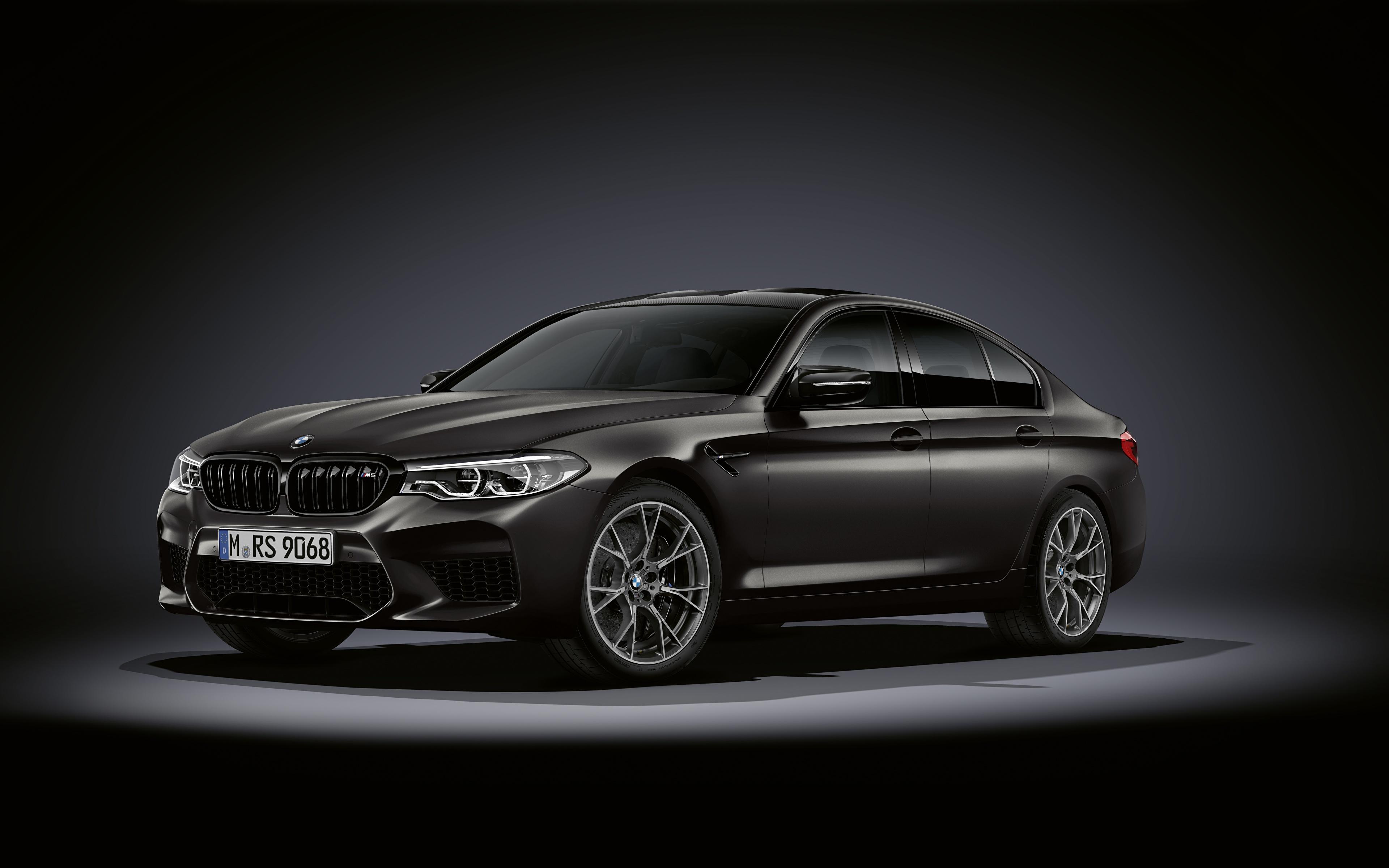 Фотография БМВ M5, F90, 2019, Edition 35 Years черная Автомобили 3840x2400 BMW Черный черные черных авто машины машина автомобиль