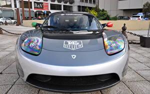 Обои Тесла моторс Родстер Tesla Roadster