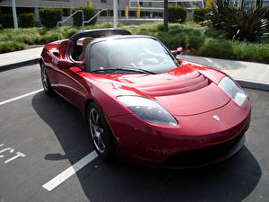 Обои Tesla Motors Родстер Tesla Roadster
