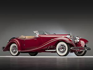 Картинки Mercedes-Benz Родстер 500K Luxury Roadster 1935