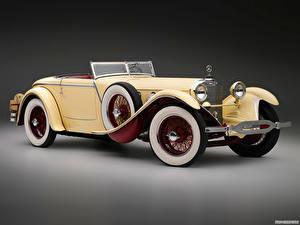 Обои Mercedes-Benz Родстер 680S Saoutchik Torpedo Roadster 1928 Автомобили