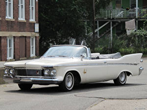 Картинка Chrysler Imperial Convertible 1961 машина