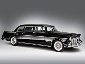 Обои Chrysler Imperial Crown Limousine 1956 автомобиль