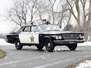 Фотографии Крайслер Newport Police Cruiser 1963 машины