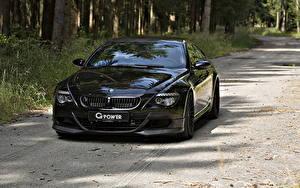 Фото БМВ Фары Черных Спереди 2010 G-Power M6 Hurricane RR based on BMW M6 машины