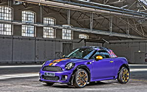 Фотографии Mini Фиолетовый Металлик HDRI Родстер 2012 Roadster