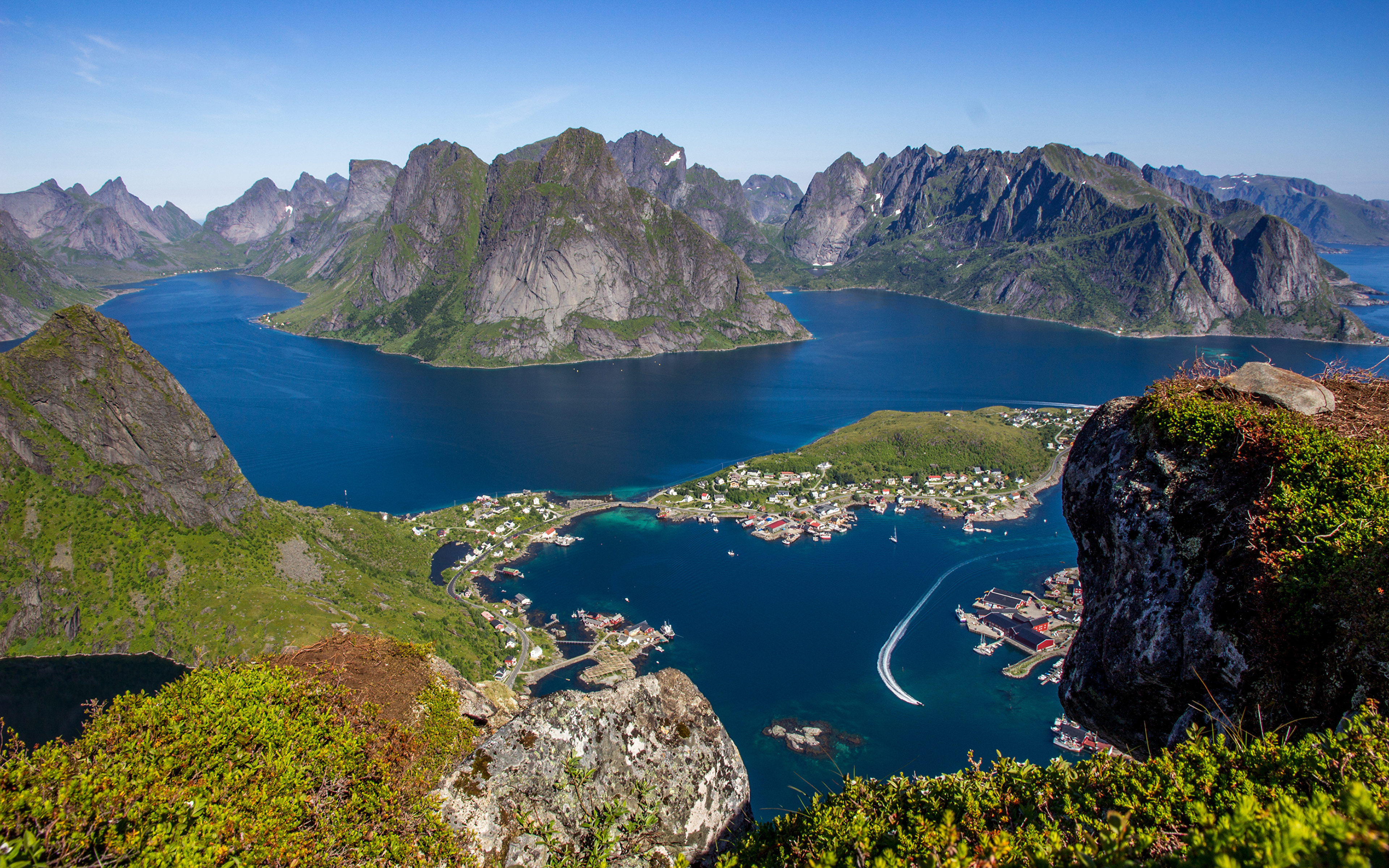 lofoten islands images - HD 3840×2400