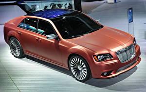 Фотография Chrysler 2013 300S Turbine bronze машина